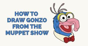 Cách vẽ Gonzo trong Muppet Show Ảnh nổi bật