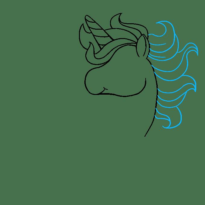 Cách vẽ Chibi Unicorn: Bước 5