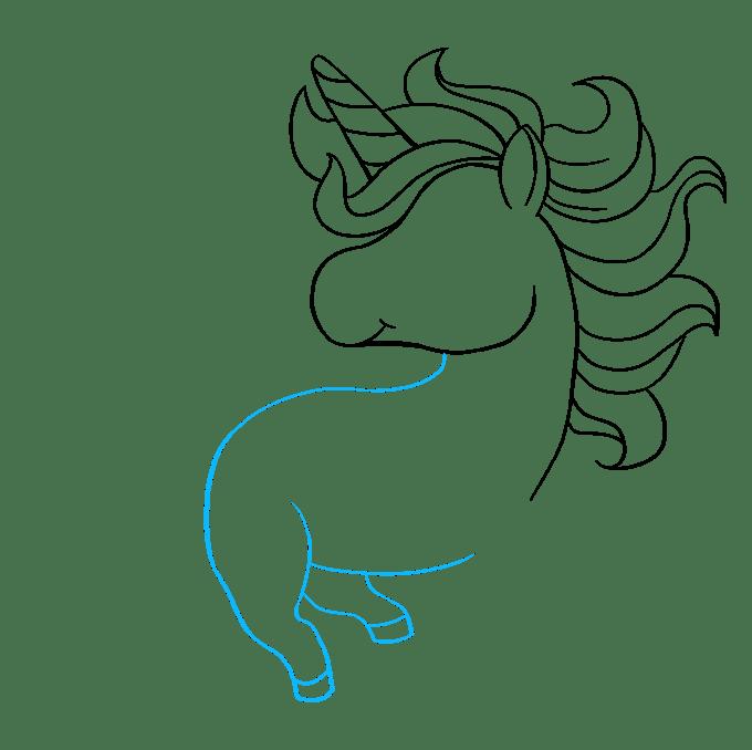 Cách vẽ Chibi Unicorn: Bước 6