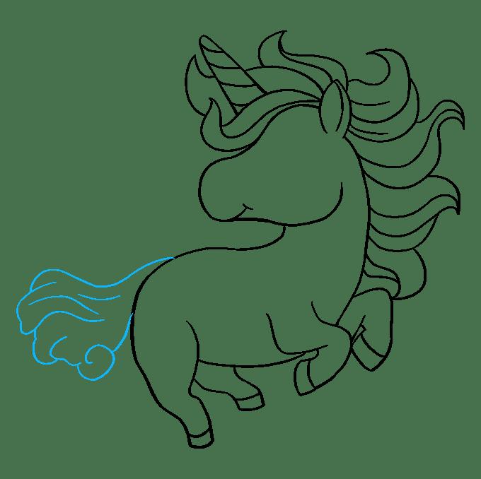 Cách vẽ Chibi Unicorn: Bước 8