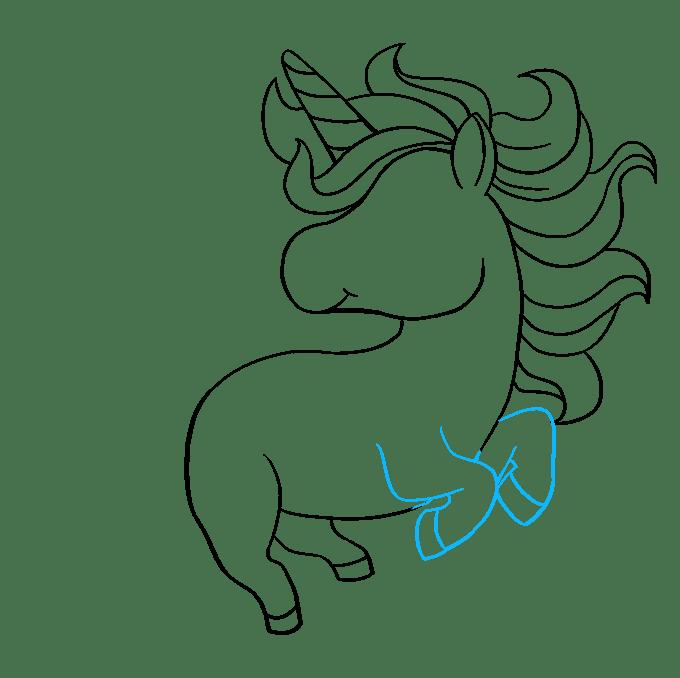 Cách vẽ Chibi Unicorn: Bước 7