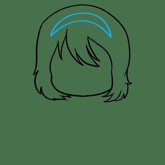 Cách vẽ Anime Chibi Girl: Bước 4