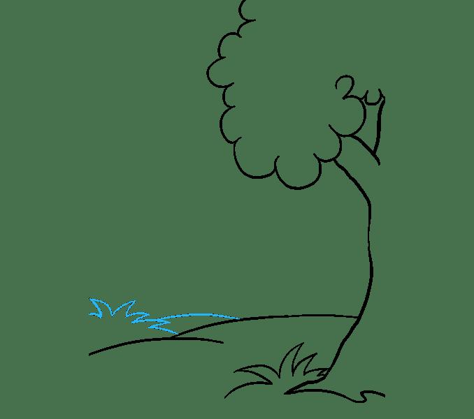 Cách vẽ rừng phim hoạt hình: Bước 6