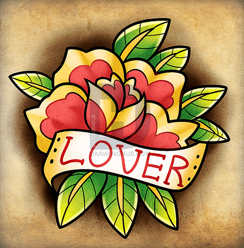 Hướng dẫn vẽ: Cách vẽ hoa hồng cổ điển