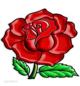 Hướng dẫn vẽ: Cách vẽ hoa hồng bằng vòng tròn