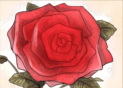 Hướng dẫn vẽ: Ba cách để vẽ một bông hồng
