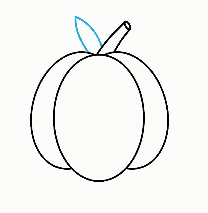 Cách vẽ Jack O Lantern: Bước 5