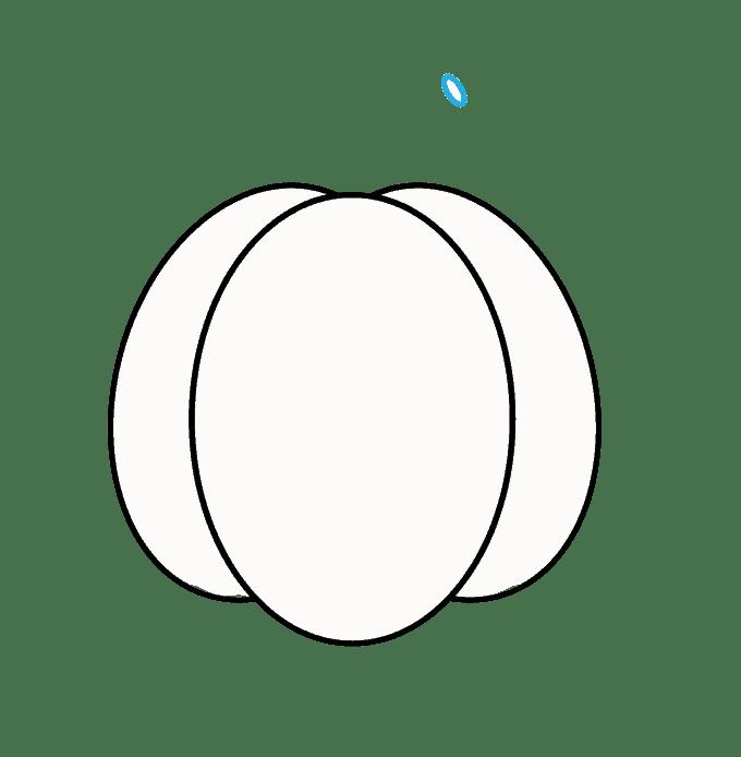 Cách vẽ Jack O Lantern: Bước 3