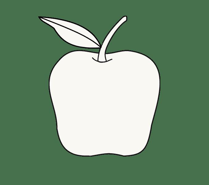 Cách vẽ Apple: Bước 9