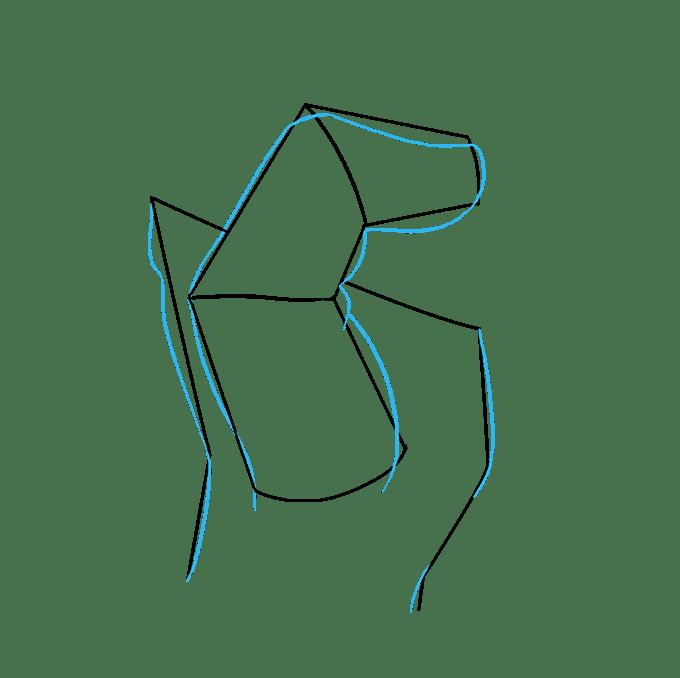 Cách vẽ nắm tay: Bước 3