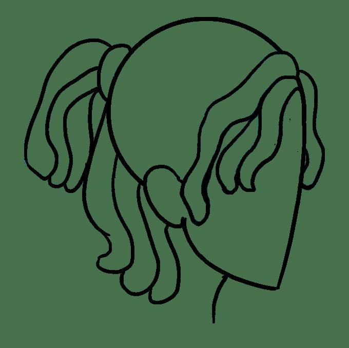 Cách vẽ Dreadlocks: Bước 8