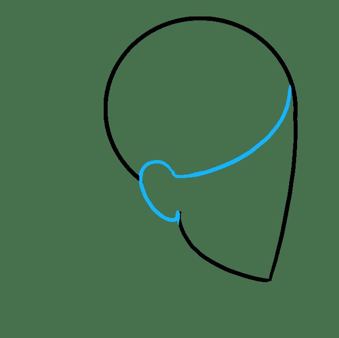 Cách vẽ Dreadlocks: Bước 4