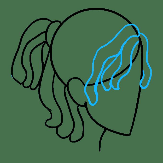 Cách vẽ Dreadlocks: Bước 7