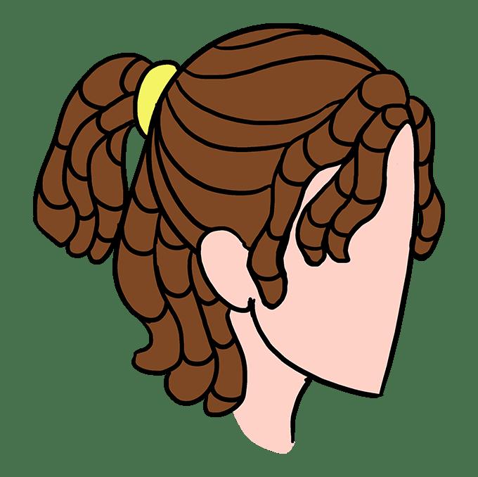 Cách vẽ Dreadlocks: Bước 10