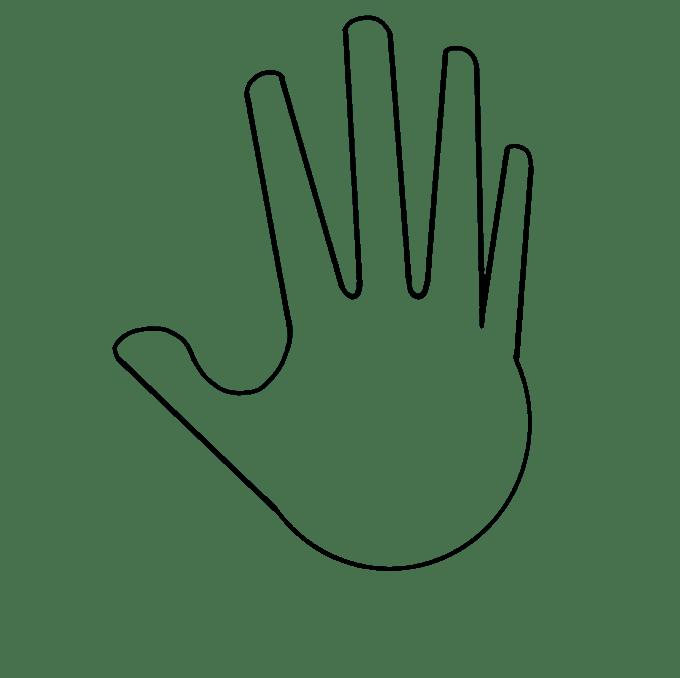 Cách vẽ tay: Bước 4