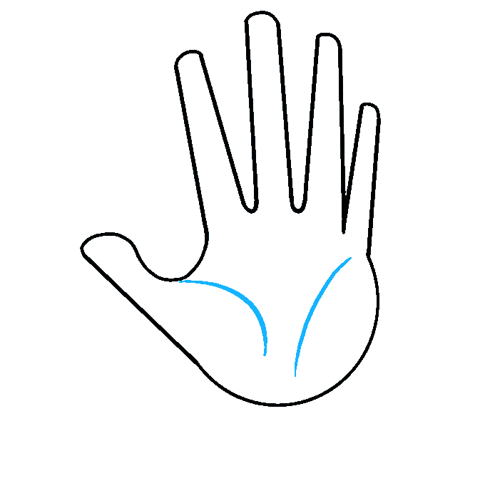 Cách vẽ tay: Bước 5