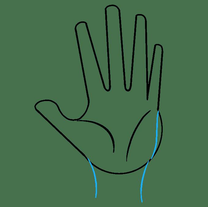 Cách vẽ tay: Bước 6