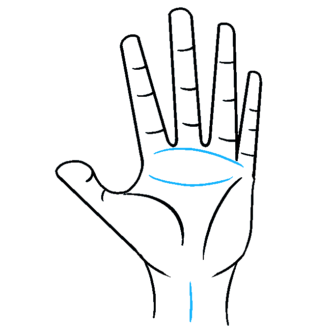 Cách vẽ tay: Bước 9