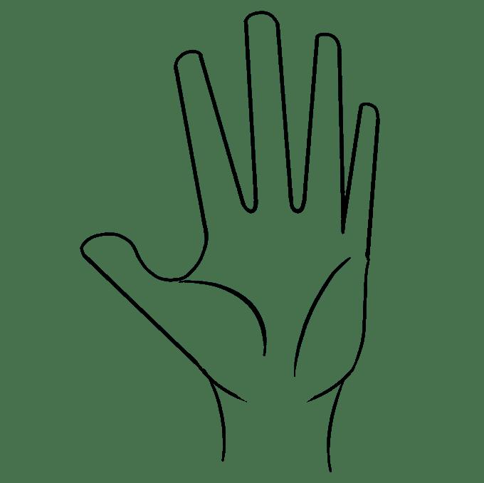 Cách vẽ tay: Bước 7