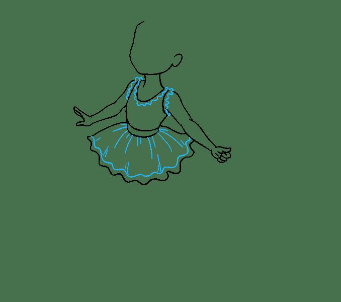 Cách vẽ nàng tiên: Bước 10