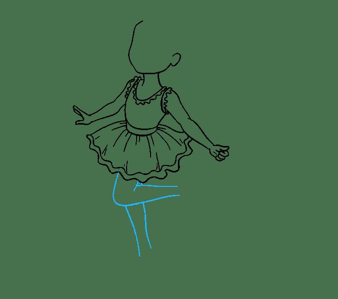 Cách vẽ nàng tiên: Bước 11