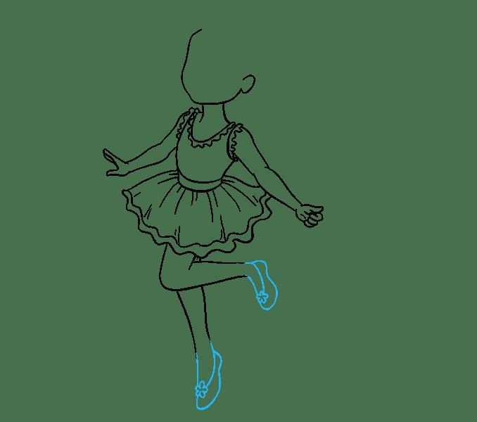 Cách vẽ nàng tiên: Bước 12