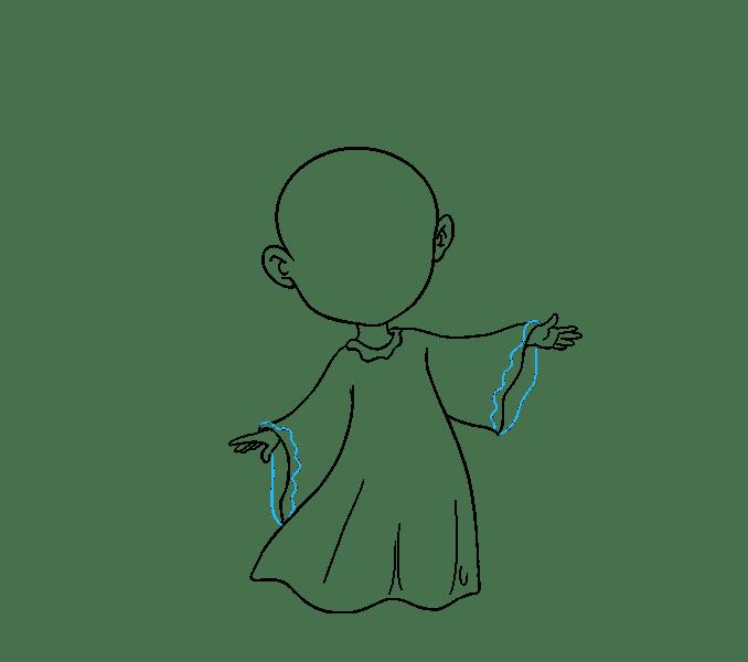 Cách vẽ thiên thần: Bước 12
