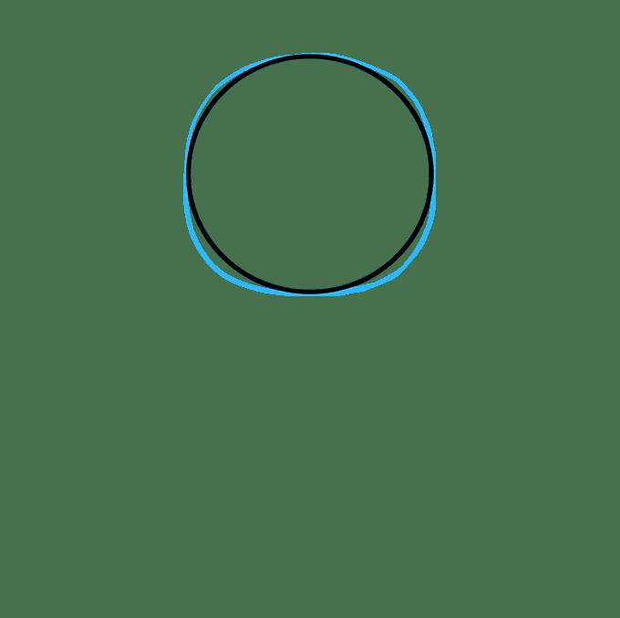 Cách vẽ phi hành gia: Bước 2