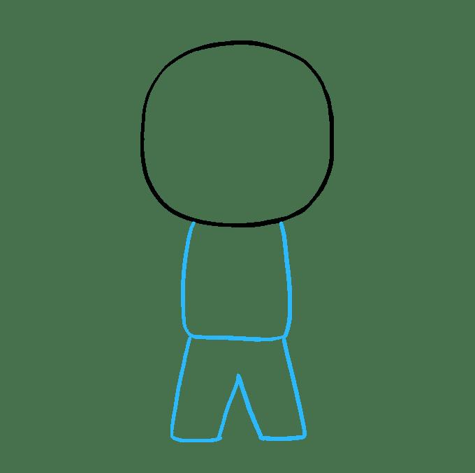 Cách vẽ phi hành gia: Bước 4
