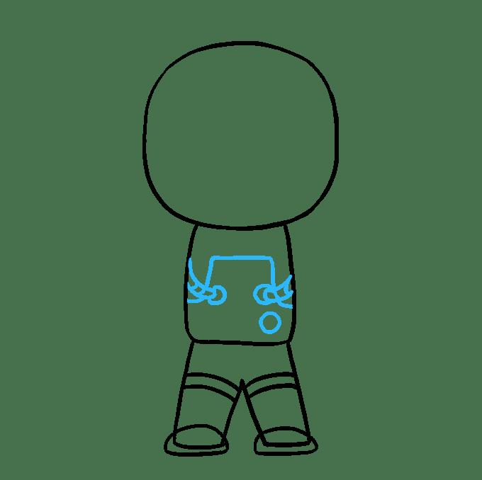 Cách vẽ phi hành gia: Bước 6