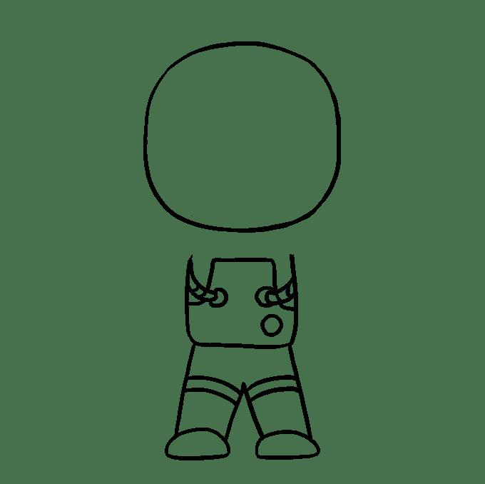 Cách vẽ phi hành gia: Bước 7