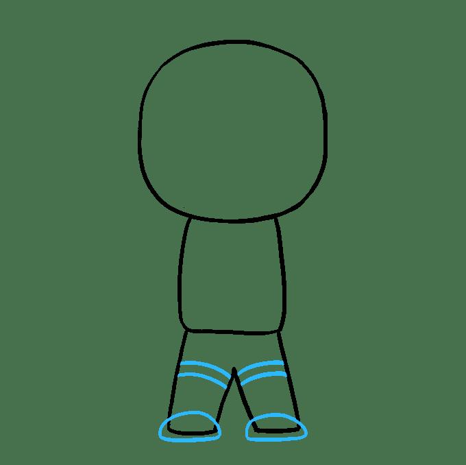 Cách vẽ phi hành gia: Bước 5