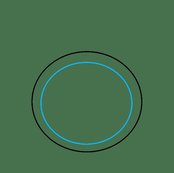 Cách vẽ nhẫn kim cương: Bước 2