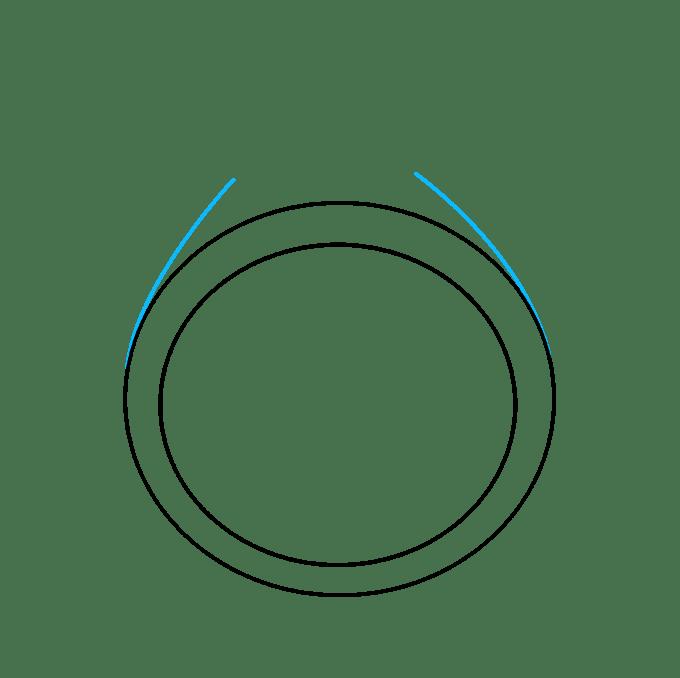 Cách vẽ nhẫn kim cương: Bước 3