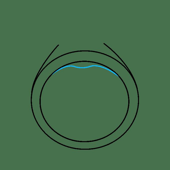 Cách vẽ nhẫn kim cương: Bước 4