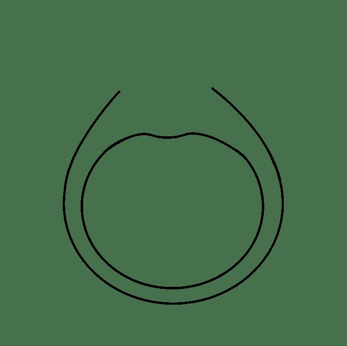 Cách vẽ nhẫn kim cương: Bước 5