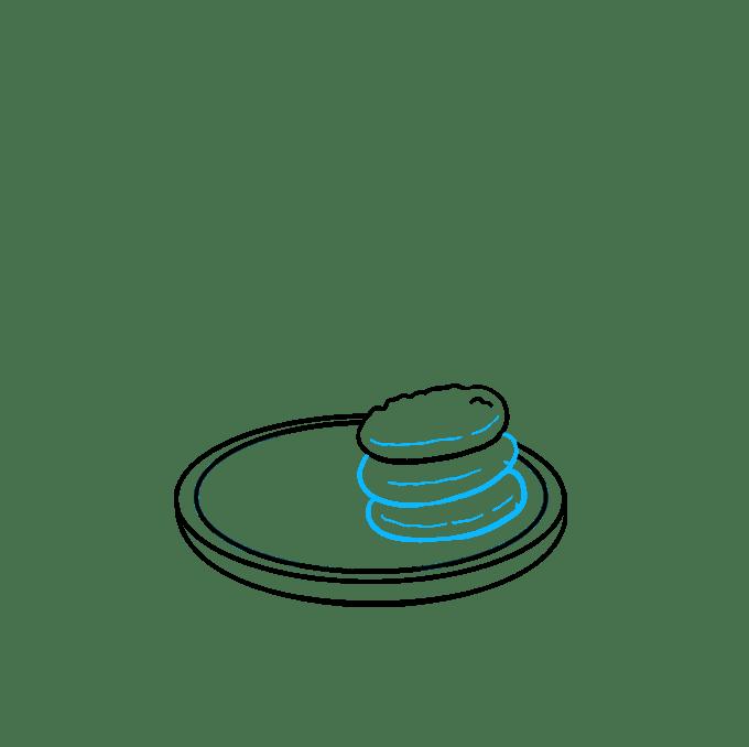 Cách vẽ Cookies: Bước 4