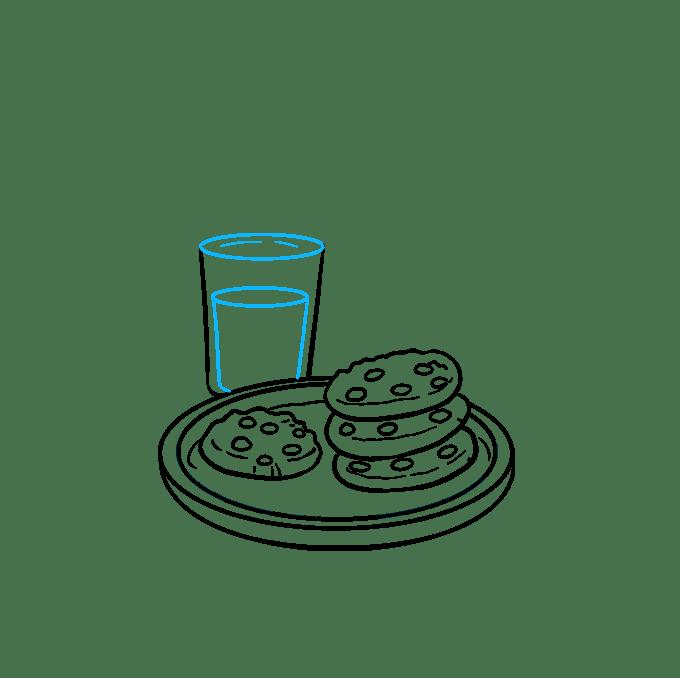 Cách vẽ Cookies: Bước 8