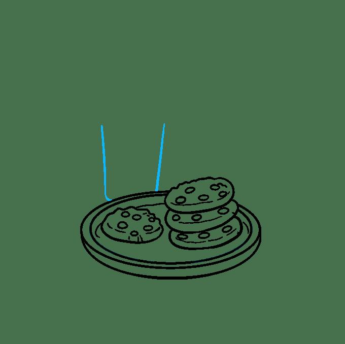 Cách vẽ Cookies: Bước 7