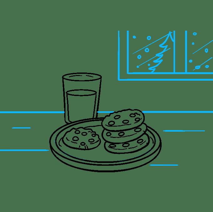 Cách vẽ Cookies: Bước 9