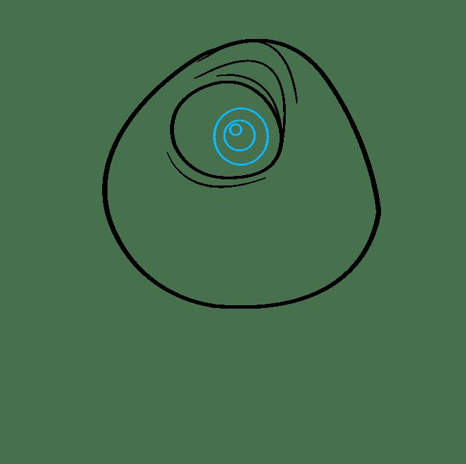 Cách vẽ Mike Wazowski từ Quái vật, Inc.: Bước 5
