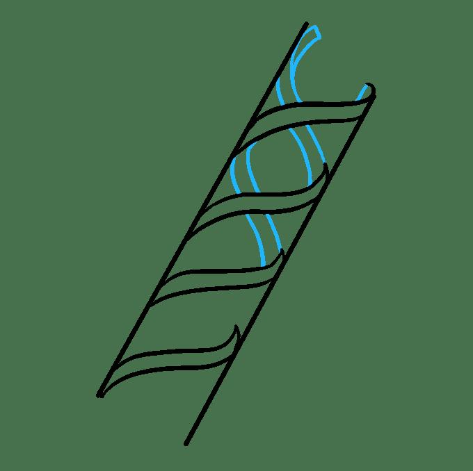 Cách vẽ DNA: Bước 3