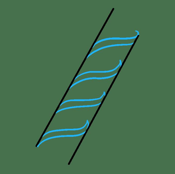 Cách vẽ DNA: Bước 2