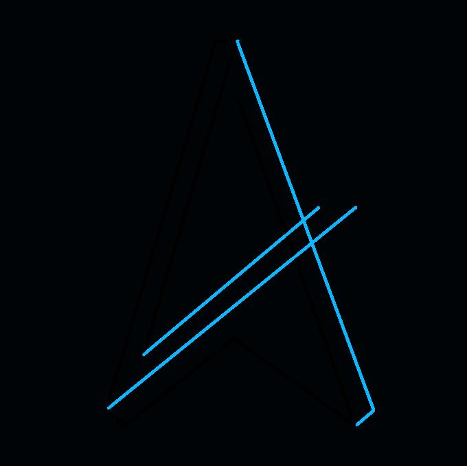Cách vẽ ngôi sao bất khả thi: Bước 3