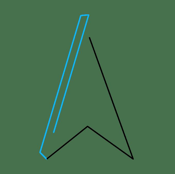 Cách vẽ ngôi sao bất khả thi: Bước 2