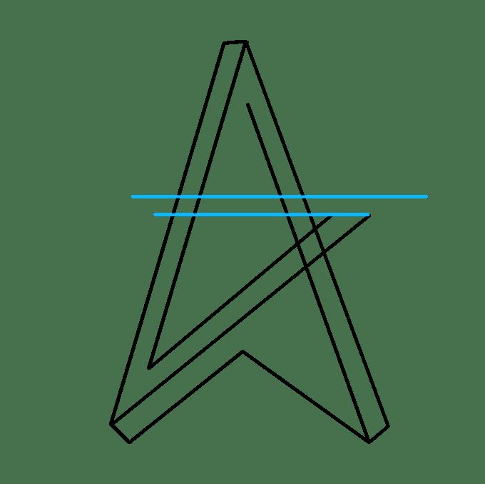 Cách vẽ ngôi sao bất khả thi: Bước 4