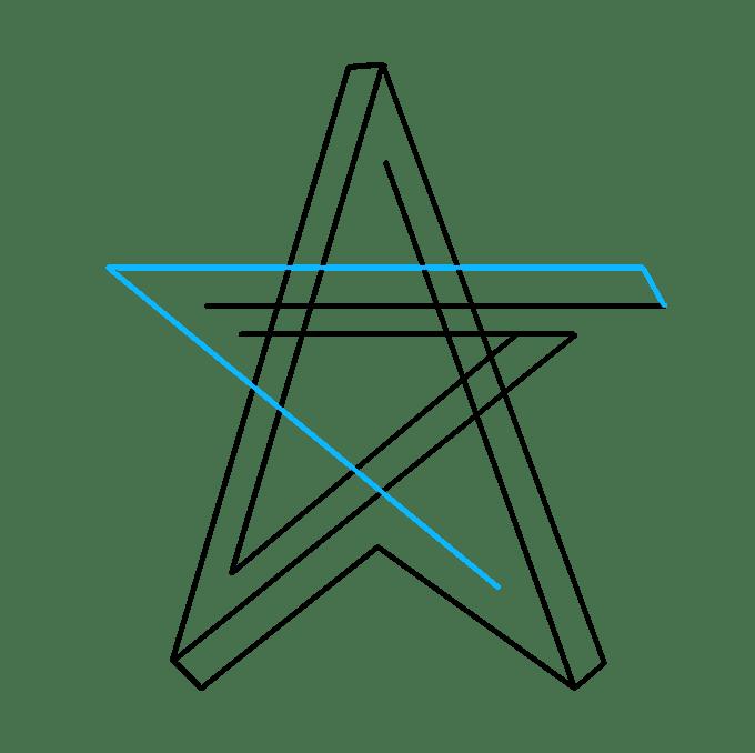 Cách vẽ ngôi sao bất khả thi: Bước 5