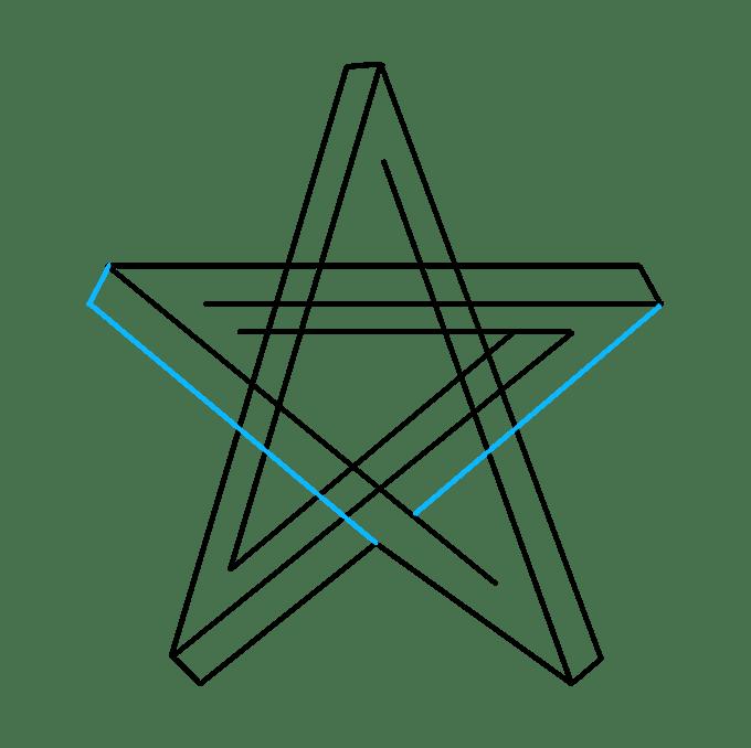 Cách vẽ ngôi sao bất khả thi: Bước 6