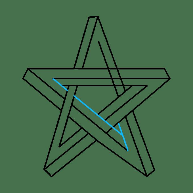Cách vẽ ngôi sao bất khả thi: Bước 7