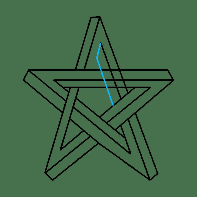 Cách vẽ ngôi sao bất khả thi: Bước 8